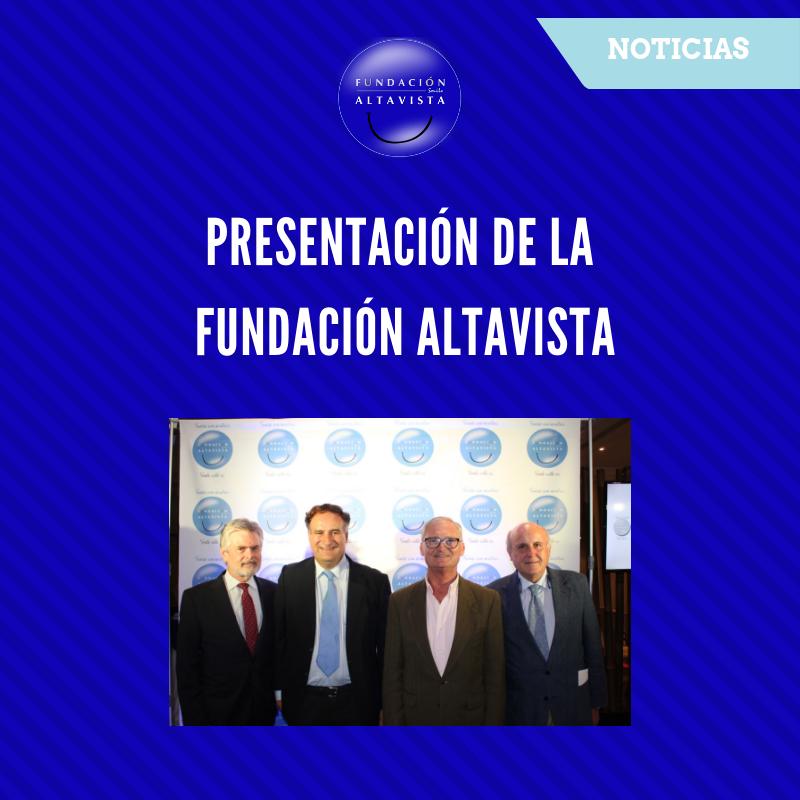 Presentación Fundación Altavista